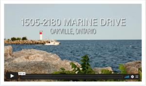 For Sale 1505-2180 Marine drive oakville ontario